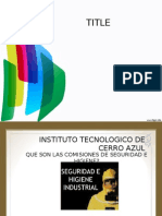 Presentacion Comision Mixta de Segurida 2012