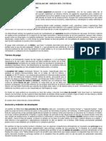 Reglas de Juego Del Futbol