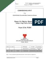 Commissioning Input PD0581