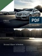 Mercedes-benz-e-class-c207 Brochure 00 11357 de de 05-2013