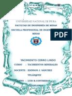 Yacimientos Minero Cerro Lindo Ubi Acce