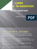 Limba Creolă În Maurițius
