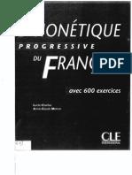 Phonetique Progressive Du Francais