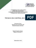 Universidad de Costa Rica Proyecto Final Versión 2