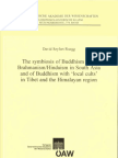 (Beitrage Zur Kultur- Und Geistesgeschichte Asiens 58) David Seyfort Ruegg-The Symbiosis of Buddhism With Brahmanism_Hinduism in South Asia and of Buddhism With 'Local Cults' in Tibet and the Himalaya