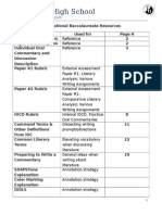 international baccalaureate resource packet