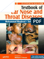 Maqbool - Textbook of Ear, Nose and Throat Diseases, 11th Edition