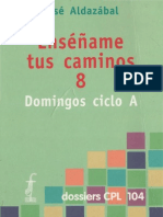 Aldazabal, Jose - Domingos Ciclo a(Bis)