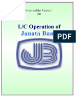 Janata Bank LC operation.doc