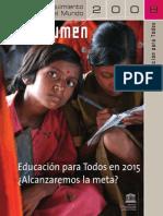 58 Educación Para Todos 2005