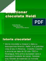 Chestionar Ciocolata Heidi