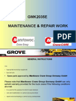 Maintenance & Repair Work