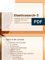Elasticsearch:Dealing With Human Language