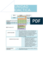 Unidad Didactica Inglés