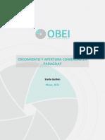 Crecimiento y Apertura Comercial en El Paraguay SG