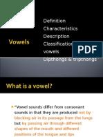Vowels