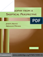 Agassi-Meidan. Philosophy From a Skeptical Perspective