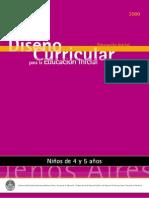 Diseño Curricular Para La Educacion Inicial Para 4 y 5 Años (1)