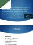 Human Papillomavirus and Cervical Lesions