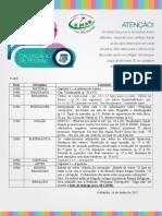 CALENDÁRIO 7° ano DIVULGAÇÃO DAS DATAS DE PROVAS DO 1° BIMESTRE - Cópia (4).doc