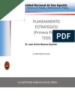 Planeamiento Estrategico 01 (Publica 2014)