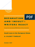 Defamation Europe