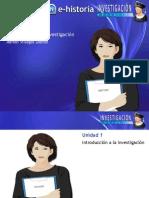 Unidad 1 - Introducción a La Investigación