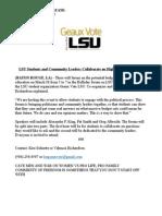 geaux vote lsu press release
