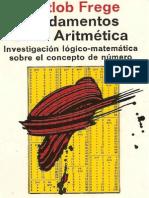 Frege, Gottlob - Fundamentos de La Aritmética. Investigación Lógico-matemática Sobre El Concepto de Número