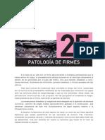 Patologia de Firmes Libro Bañon