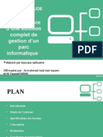mise en place d'une  solution complet de gestion d'un parc informatique