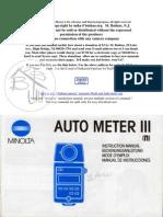 Minolta Autometer III n