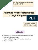 2 Anemies Hyposideremiques d Origine Digestive Final