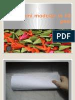 Origami Modular in 10 Pasi
