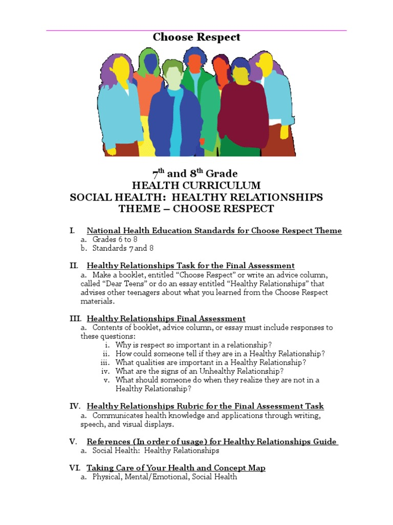 social health healthy relationships entire curriculum litre ounce