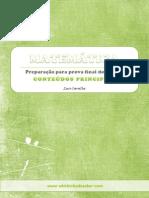 Preparação Para Prova Final de Matemática 9º Ano 3º Ciclo