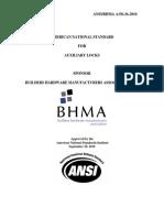 BHMA A156.36 Aux Locks 36publication2010