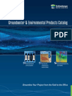 Groundwater Monitoring Instruments Modeling Software Catalog