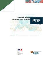 RP-56448-FR Dossiers de Presse Alea Sismique 6 Regions Francaises
