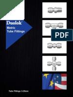 Duolok Metric Tube Fittings Catalog