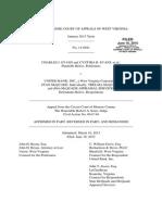 Evans, et al. v. United Bank, et al. West Virginia Supreme Court Opinion