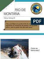 Glosario de Montaña