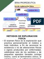 Enfermeria Propedeutica Metodos Exploracion