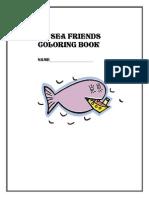 My Sea Friends Coloring Book