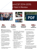 MacLaurinCSF Year in Review 2014-15