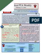 Wildcat Weekly Feb 15