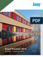 Knaufkatalog Holzbau DEF de 2015