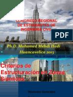 Criterios Estructuracion en Zonas Sismicas