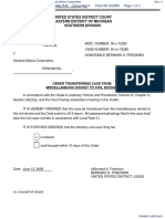 Courtesy Oldsmobile, Incorporated v. General Motors Corporation - Document No. 4