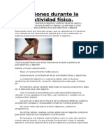 lesiones en actividad fisica